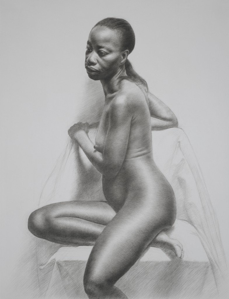 Connie XI | 25.5 x 19.5 inches | graphite on paper