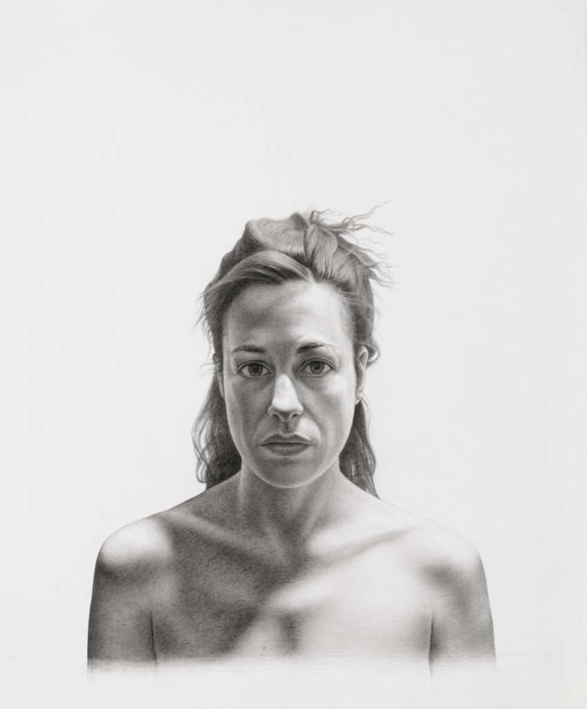 Cynthia I | 30 x25 inches | graphite on paper