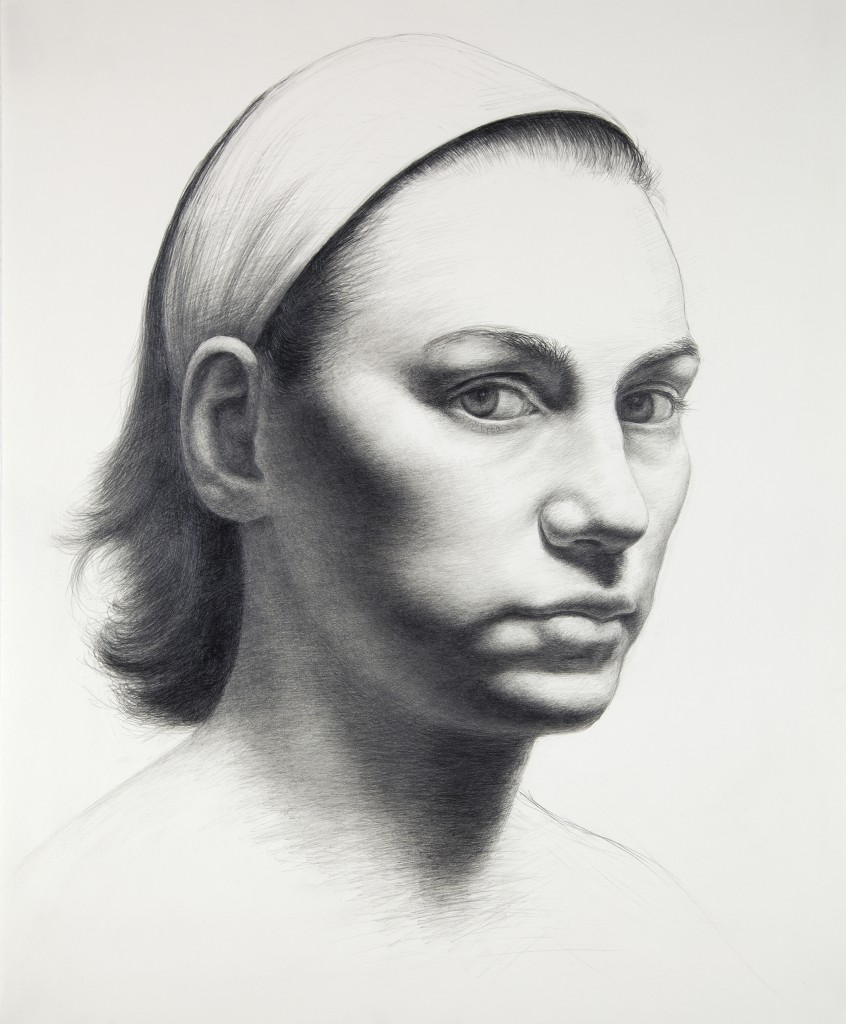 Darya XX | 17 x 14 inches | graphite on paper