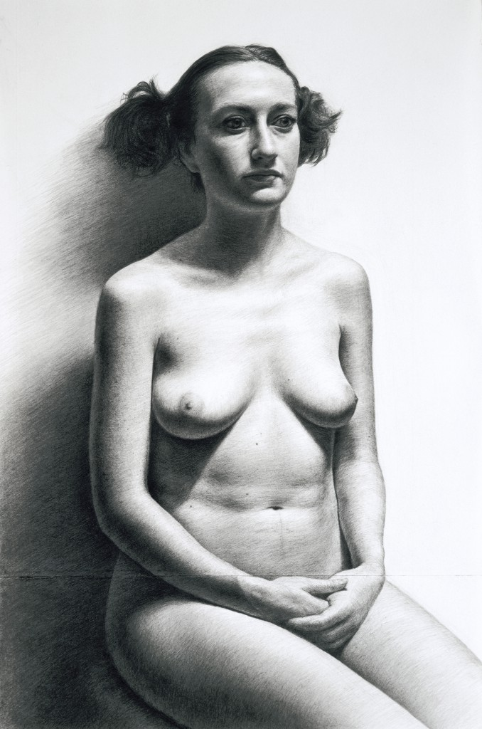 Gioia I | 21.5 x 14 inches | graphite on paper