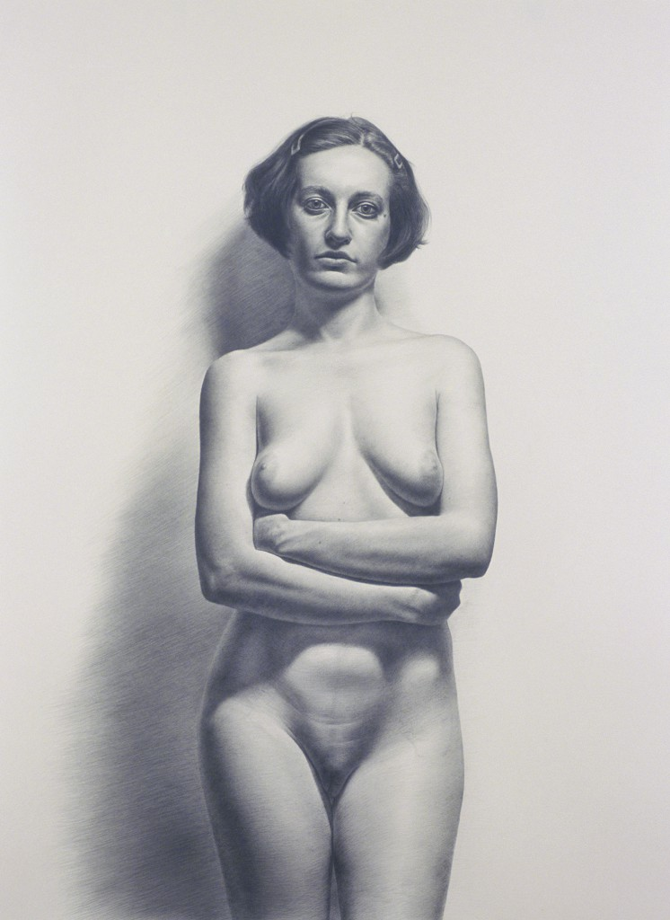Gioia VI | 52 x 24 inches | graphite on paper