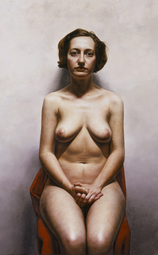 Gioia VIII | 56 x 35 inches | oil on panel