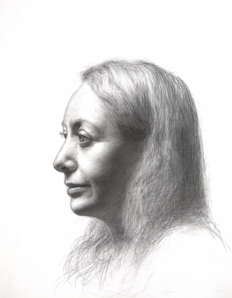 Jenne I | 14 x11 inches | graphite on paper