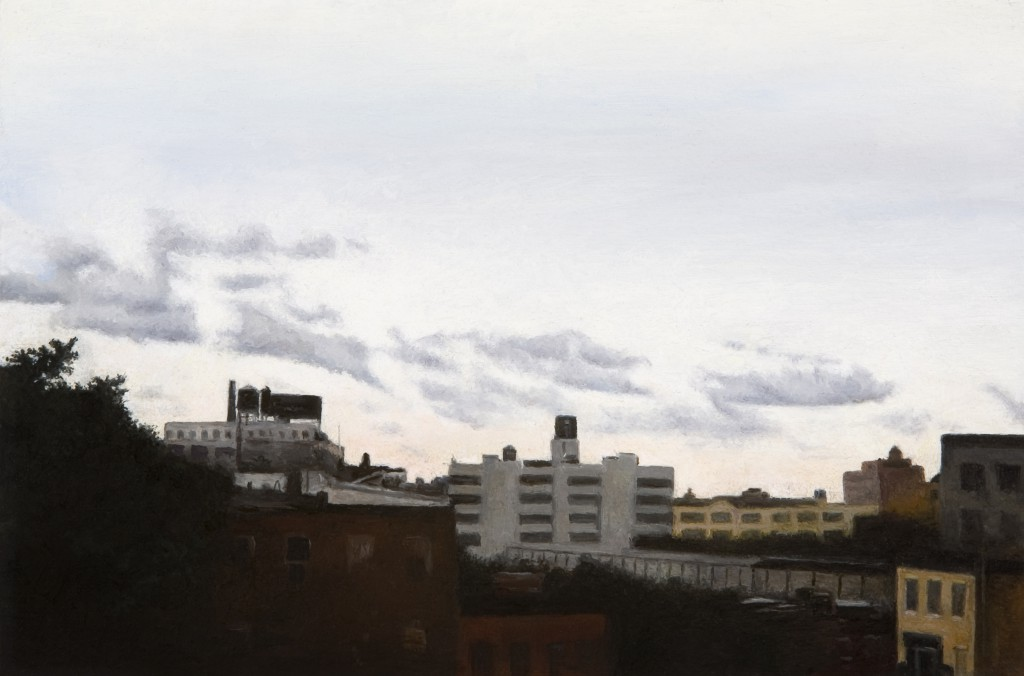 Long Island City IV | 6 x 9 inches | oil on panel