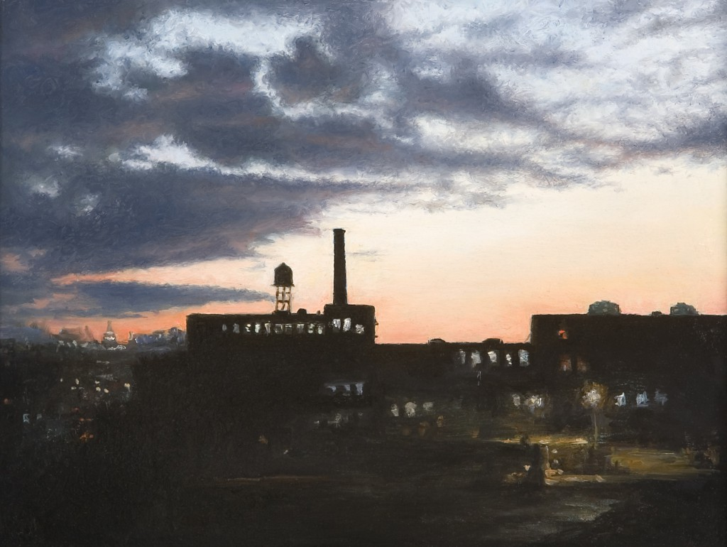 Long Island City II | 6 x 9 inches | oil on panel