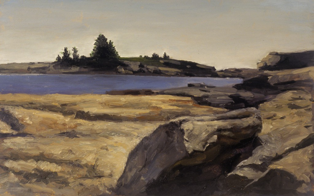 Maine I | 8.25 x 13 inches | oil on panel