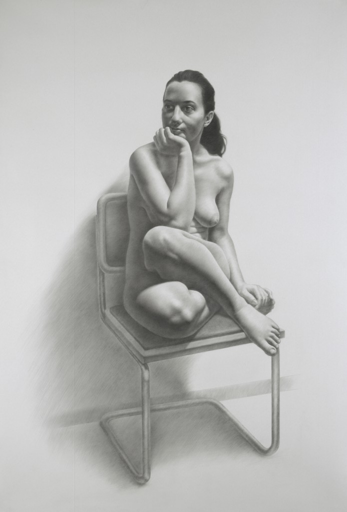 Maria VI | 69 x 48 inches | graphite on paper