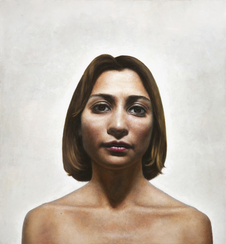 Maria XII | 13 x 12 inches | oil on panel