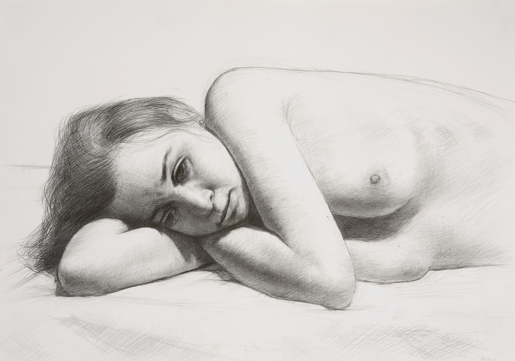Maria X | 11.75 x 16 inches | graphite on paper