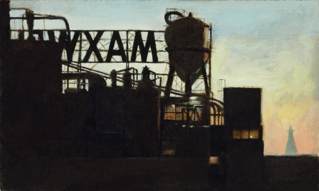 Maxwell House Factory | 6 x 9 inches | oil on Panel