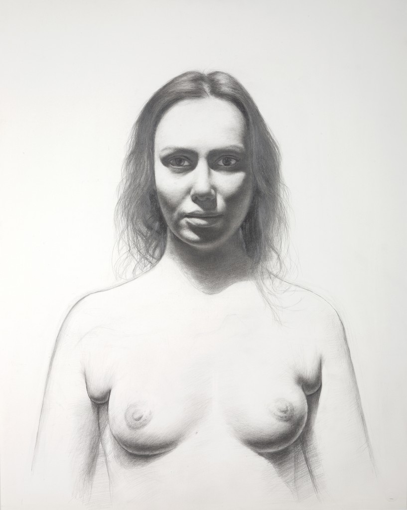 Maya II | 29 x 23 inches | graphite on paper