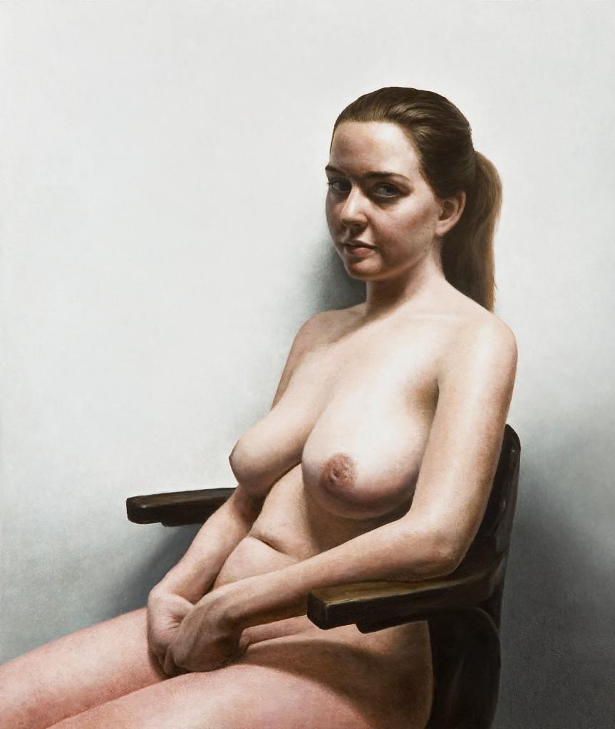 Miranda VIII | 17 x 14 inches | oil on panel