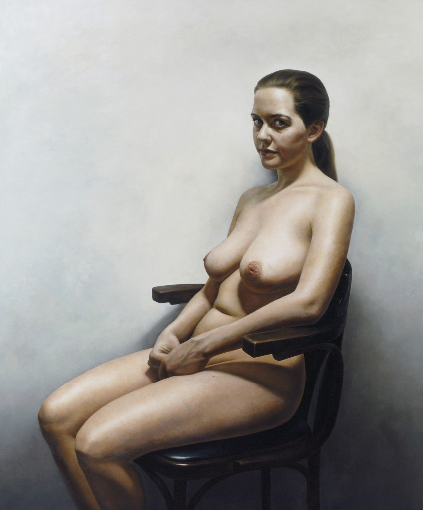 Miranda XI | 50 x 42 inches | oil on panel