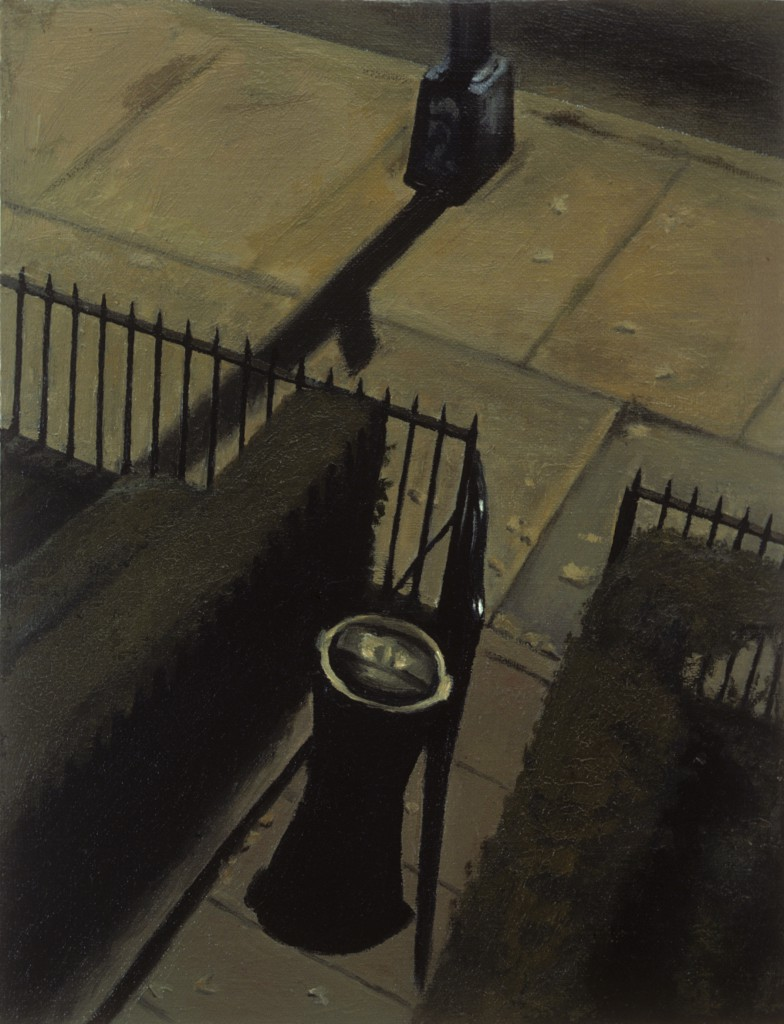 Night Street I | 20 x 16 inches | oil on panel