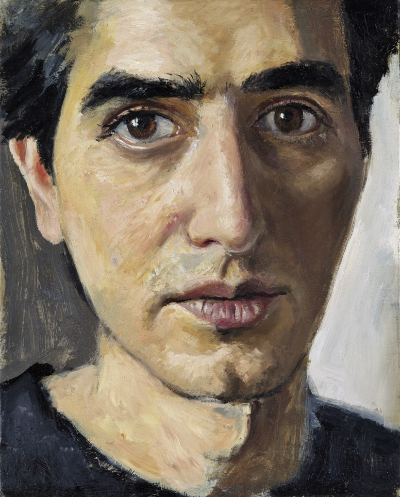 Self Portrait | 10 x 8 inches | oil on Panel