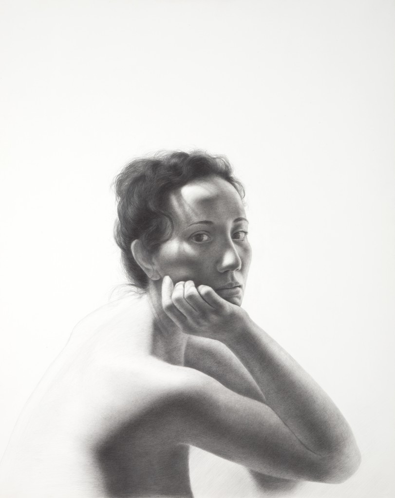 Vania V | 29 x 23 inches | graphite on paper