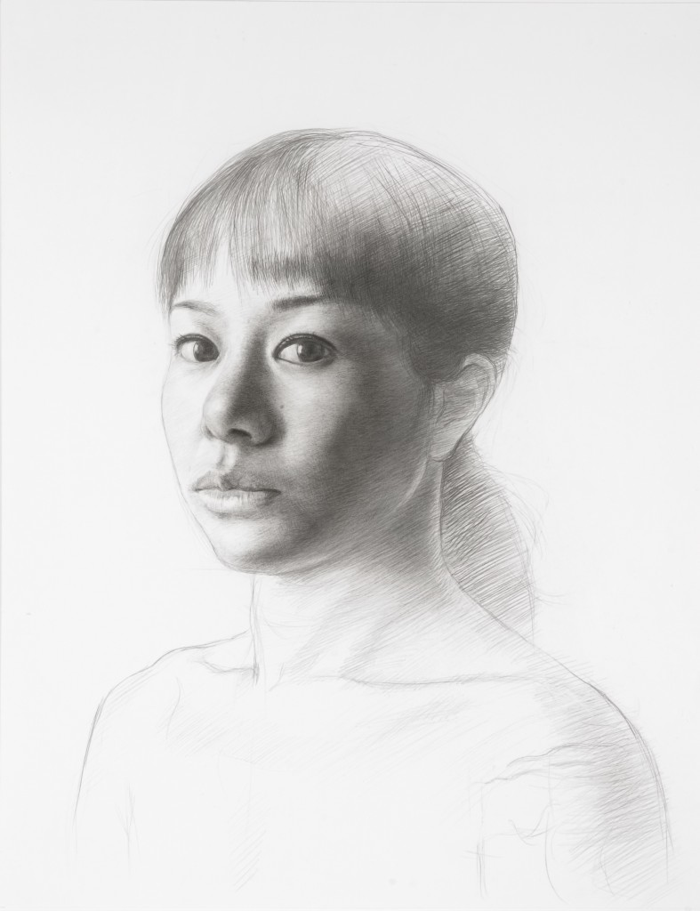 Yuko VIV | 18 x 14 inches | graphite on paper