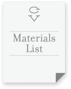 materials list icon