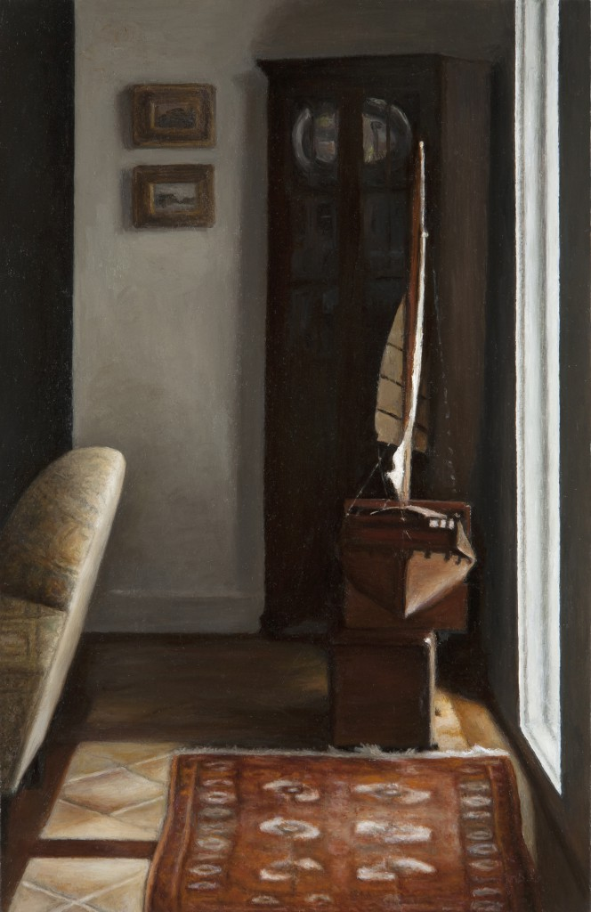 Schut Den | 14 x 9 inches | oil on panel